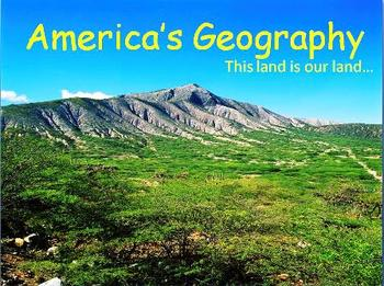 Geography: America's Geography PowerPoint Presentation
