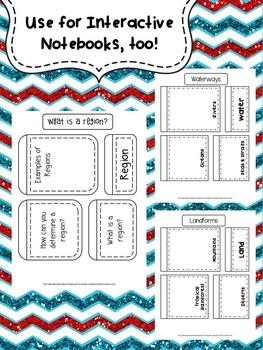 America's Neighbors Lapbook Bundle