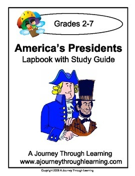 America's Presidents Lapbook with Study Guide