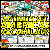 Americas Interactive Vocabulary Activity Set Google Ready-