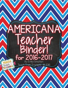 Americana Teacher Binder {2016-2017}