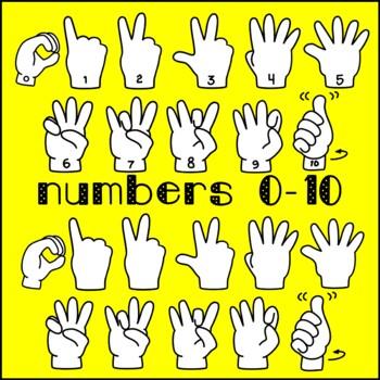 Americn Sign Language (ASL) Clip Art