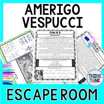 Amerigo Vespucci ESCAPE ROOM:  Explorer - America