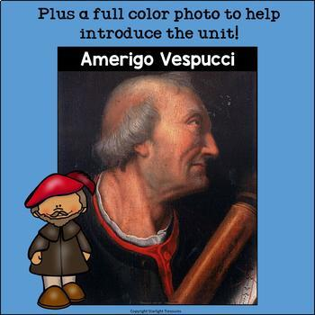 Amerigo Vespucci Mini Book for Early Readers: Early Explorers