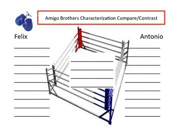 Amigo brothers characterization graphic organizer boxing ring venn amigo brothers characterization graphic organizer boxing ring venn diagram ccuart Images