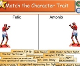 """Amigo Brothers"" Character Trait Match"