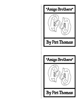 """Amigo Brothers"" - Comparing Two Characters by Shopgirl ..."
