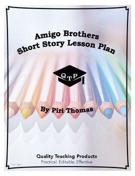Lesson: Amigo Brothers by Piri Thomas Lesson Plan ...