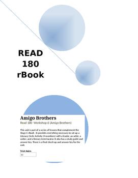 Amigo Brothers - Read 180 rBook  (Workshop 6) English Supplement