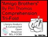 Amigo Brothers by Piri Thomas Short Story Comprehension Question Tri-fold