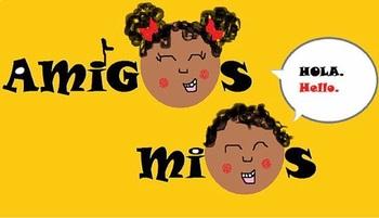 Amigos Mios Curriculum Workbook
