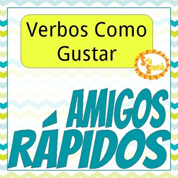 Verbs Like Gustar Speaking Activity