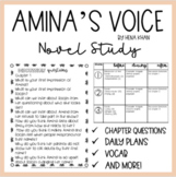 Amina's Voice by Hena Khan Novel Study