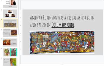 Aminah Robinson Story Book Art Project - Full Lesson Plan