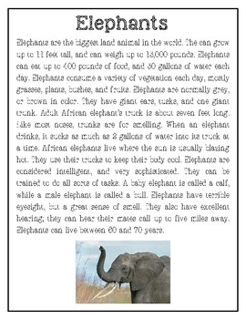 Aminal / All About Predictions / Read Aloud