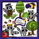 Amis Ratons (36 cliparts)