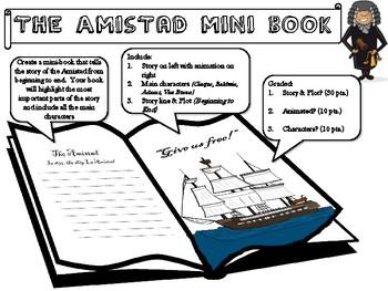 Amistad Movie Mini-Book