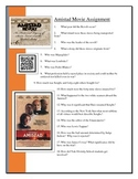 Amistad Movie worksheet