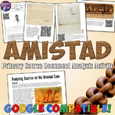 Amistad Primary Source Analysis Activity