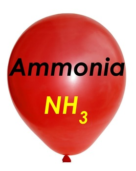 Ammonia gas balloon picture