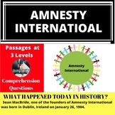 Amnesty International Differentiated Reading Passage January 26