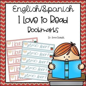 Amo Leer/I Love to Read Bookmarks