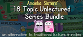 Amoeba Sisters Unlectured Series 18 Topic BUNDLE