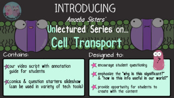 Amoeba Sisters Unlectured Series- CELL TRANSPORT