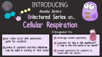 Amoeba Sisters Unlectured Series- CELLULAR RESPIRATION
