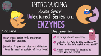 Amoeba Sisters Unlectured Series- ENZYMES