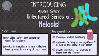 Amoeba Sisters Unlectured Series- MEIOSIS