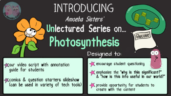 Amoeba Sisters Unlectured Series- PHOTOSYNTHESIS