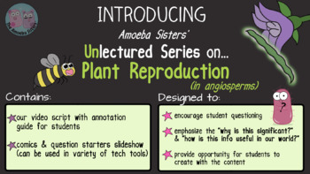 Amoeba Sisters Unlectured Series- PLANT REPRODUCTION IN ANGIOSPERMS