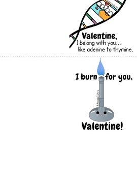 Amoeba Sisters Valentine's Day Cards (Printables)