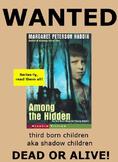 Among The Hidden Comprehensive Novel Unit and Assessment