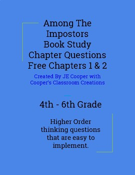 Among The Impostors Chapters 1 - 2 Free