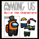 Among Us Build the Characters