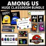 Among Us Classroom Decor Bundle