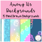 Among Us Digital Backgrounds for Google Slides and Powerpoint