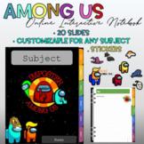 Among Us Interactive Notebook