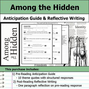 Among the Hidden - Anticipation Guide & Reflection