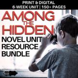 Among the Hidden Novel Study BUNDLE   GOOGLE - DIGITAL - DISTANCE LEARNING