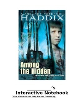 Among the Hidden Interactive Notebook