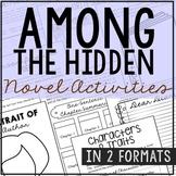 Among the Hidden Interactive Notebook Novel Unit Study
