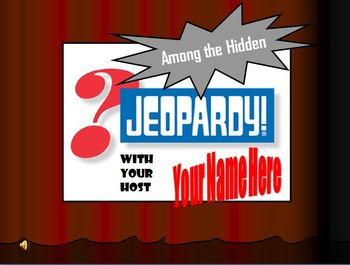 Among the Hidden Jeopardy Game