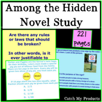 Among the Hidden Literary Unit in Power Point
