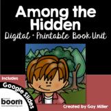 Among the Hidden Novel Study: vocabulary, comprehension, writing, skills