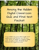 Among the Hidden Novel Packet eLearning Quizzes and Final Test