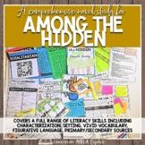 Among the Hidden Novel Study BUNDLE with DIGITAL format fo