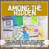Among the Hidden Novel Study BUNDLE with DIGITAL format fo